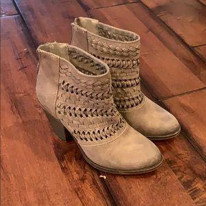 Fergalicious suede bootie/ ankle boot